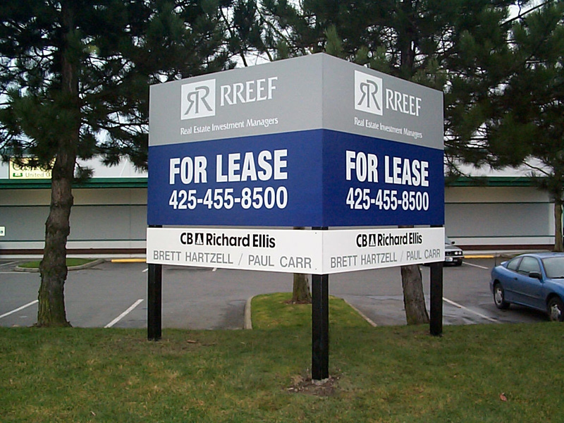 Custom Land Use and Leasing Signs